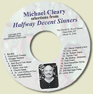 HALFWAY DECENT SINNERS, AUDIO CD